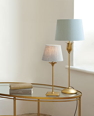 Higham Lamp in Old Gold