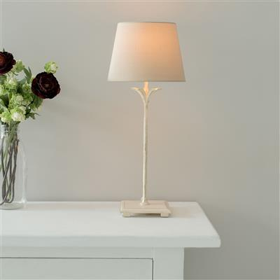 Higham Lamp in Old Ivory
