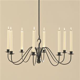 Wickham Candle Chandelier in Beeswax