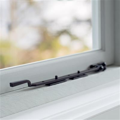 30cm Manson Window Stay in Matt Black