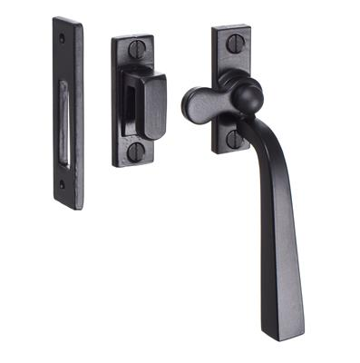 Manson Window Latch (Left Side) in Matt Black