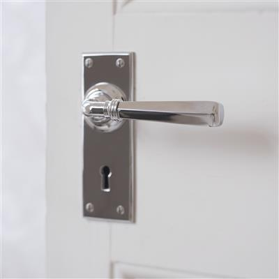 Chester Handle, Bristol Keyhole Plate, Nickel
