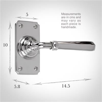 Chester Handle, Ilkley Short Plate, Nickel
