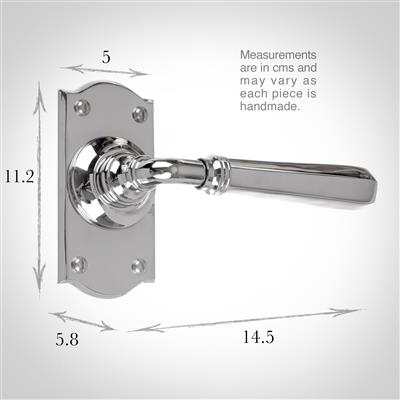 Chester Handle, Nowton Short Plate, Nickel