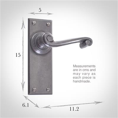 Regency Handle, Ripley Plain Plate, Polished