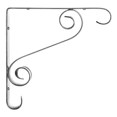 Stafford Shelf Bracket in Polished(discontinued, only stock shown available)