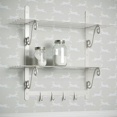 Hitcham Shelves in Clay