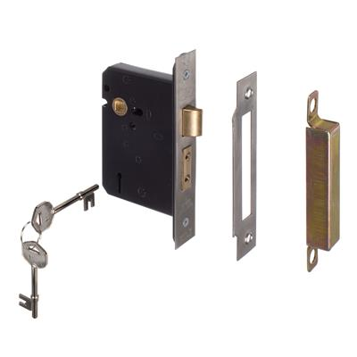 5 Lever Lock Lever Handle in Steel