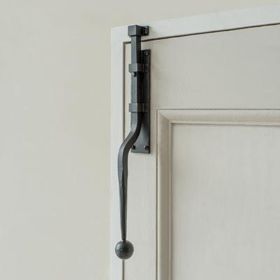 Black Vertical Door Bolt Door Security Ironmongery Jim Lawrence