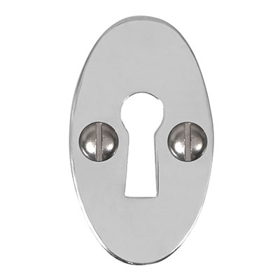 Whatfield Escutcheon Plate in Nickel