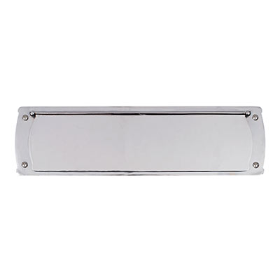 Large Internal Letter Plate in Nickel
