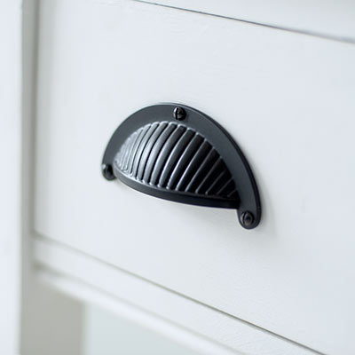 Cook's Drawer Pull in Matt Black