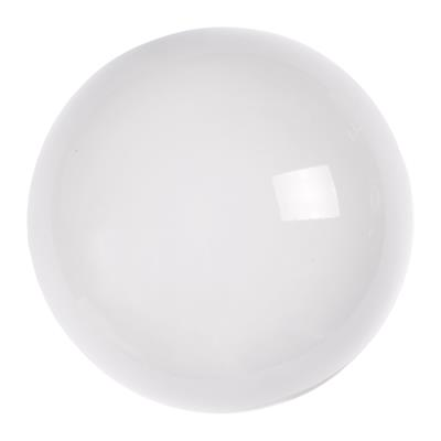 4cm Porcelain Cupboard Knob in White