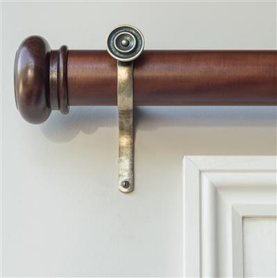 55mm Mahogany Curtain Pole(discontinued, only stock shown available)