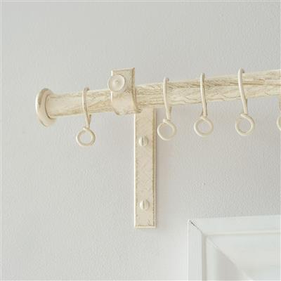 20mm Chapel Standard Bracket with thumbscrew inOld Ivory