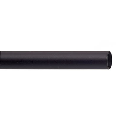 25mm Classic Pole in Matt Black