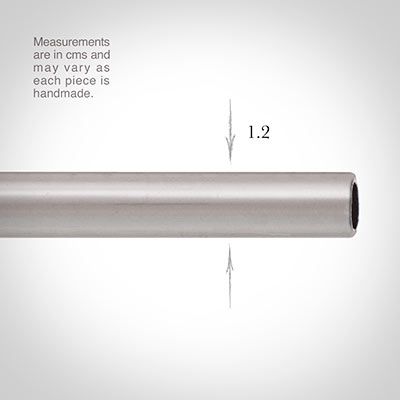 12mm Classic Pole in Mercury