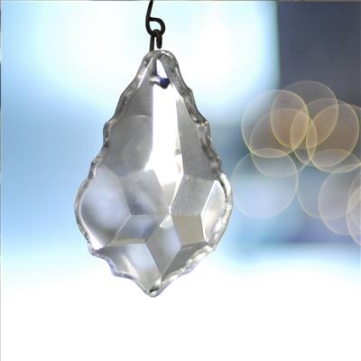 Large Clear Pendant Drops