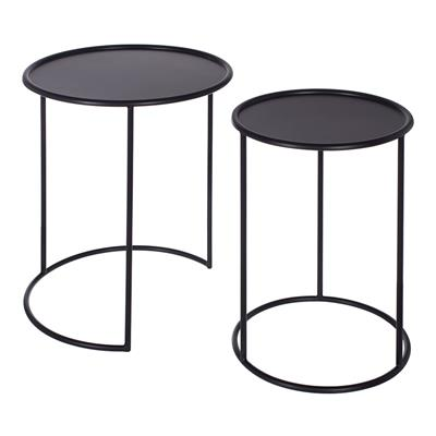 Ashbury Tables in Matt Black