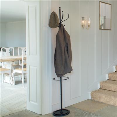 Hardwick Hat Stand in Matt Black