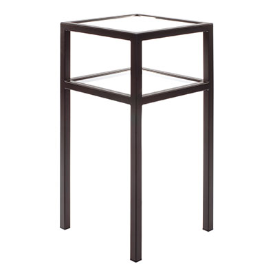 Cromer Bedside Table in Matt Black