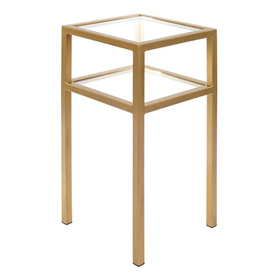 Cromer Bedside Table in Old Gold