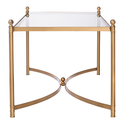 Windsor Coffee Table in Old Gold