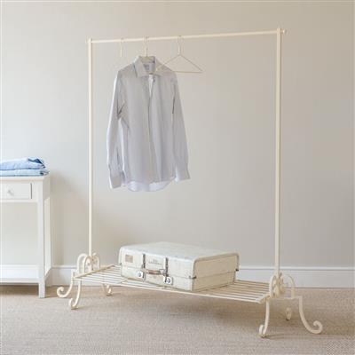 Coat Hanger in Plain Ivory