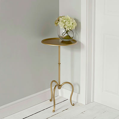Hampton Table in Old Gold