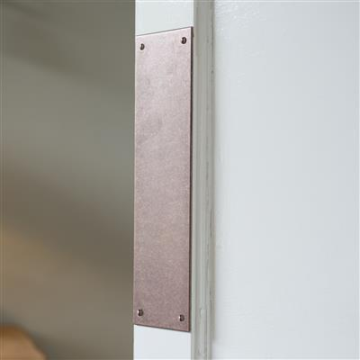 Standard Finger Plate in Heritage Copper