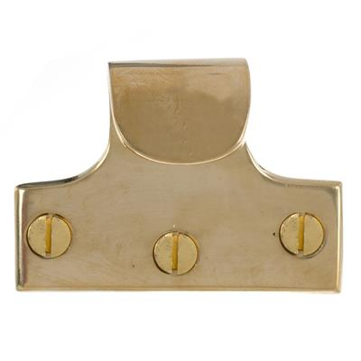Sash Handle in Polished Brass