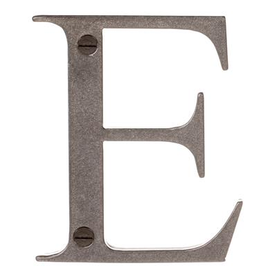 Letter E in Polished