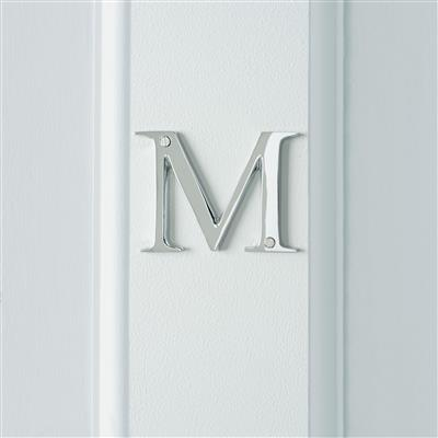 Letter M in Nickel