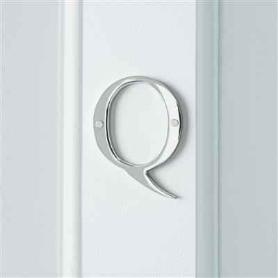 Letter Q in Nickel