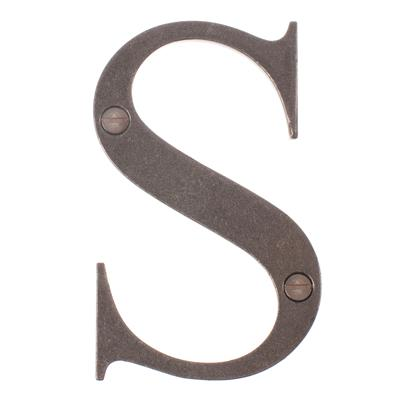 Letter S in Polished