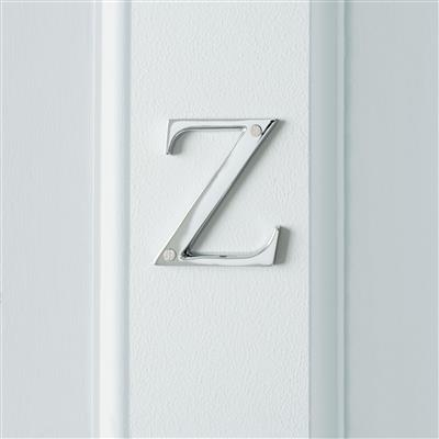 Letter Z in Nickel