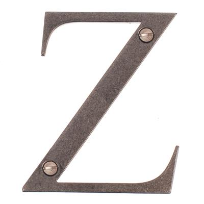 Letter Z in Polished