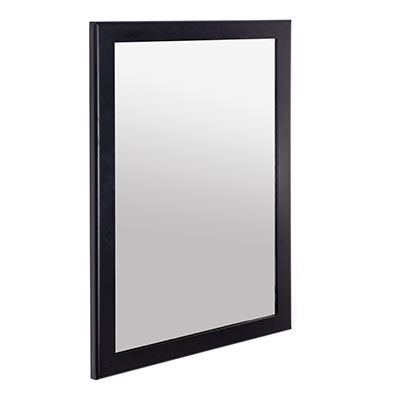 Thornhill Mirror in Matt Black