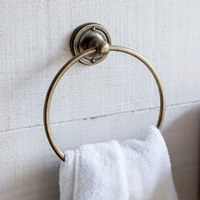 Bletchley Towel Ring