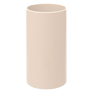 28mm dia x 55mm Ivory Candle Tube