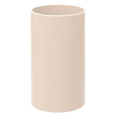 32mm dia x 56mm Ivory Candle Tube
