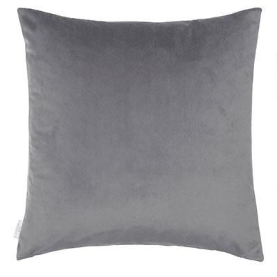 Hunstanton Velvet Cushion Cover in Mole(50cm x 50cm)