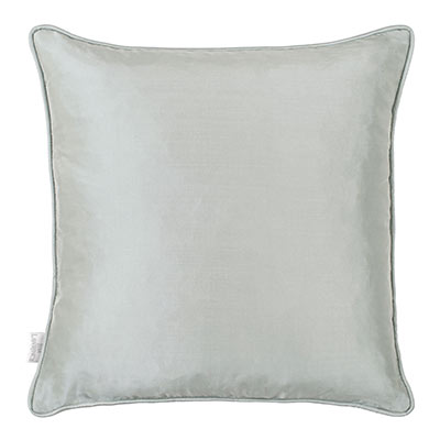 Plain Silk Cushion Cover in French Grey