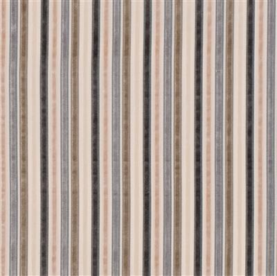Kingston Velvet Stripe Fabric in Natural(discontinued, only stock shown available)