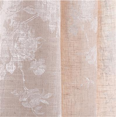 Lisette Voile in Natural & White