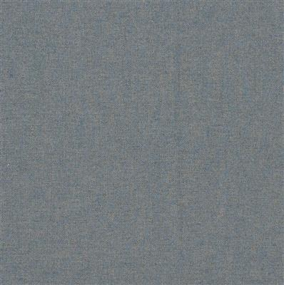 Lovat Herringbone Tweed Fabric in Blue