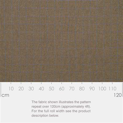 Angus Lovat Wool Check Fabric