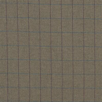 Talisker Lovat Wool Check Fabric