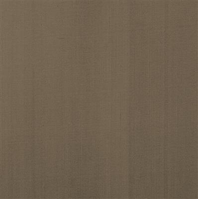 Silk Dupion Fabric in Bronze Brown