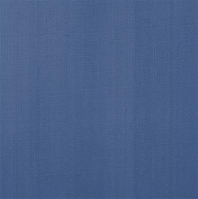 Silk Dupion Fabric in Slate Blue